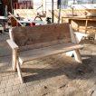 Bauholz garten Möbel 'Saal'