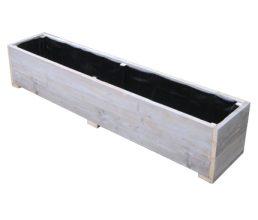 Bauholz Pflanzenkübel 'Ditzum'