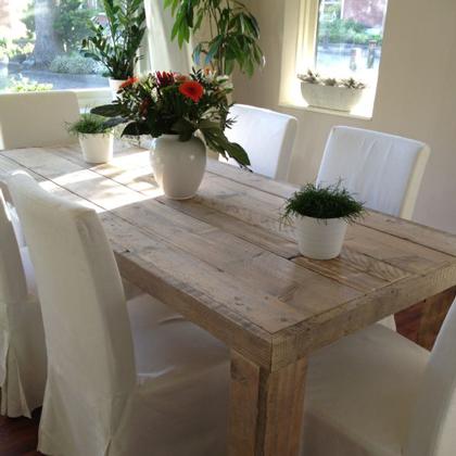 bauholz tisch 39 munchen 39. Black Bedroom Furniture Sets. Home Design Ideas