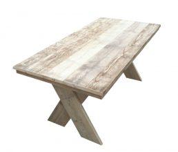 Bauholz Tisch 'Saal'