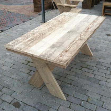 Bauholz Tisch Saal Www Hausundgartenmoebel Com