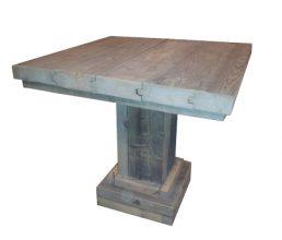 Unterwasserholz Tisch 'Kessel'