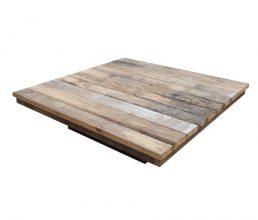 Unterwasserholz-tisch-Leck