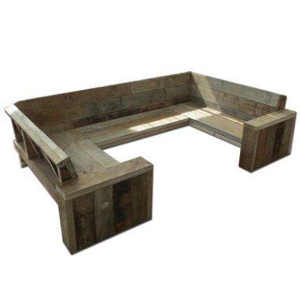 Unterwasserholz, wasserschutzholzmobel 'Bremen' - Outdoor Furniture
