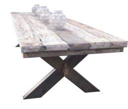 Unterwasserholz Tisch 'Dresden'
