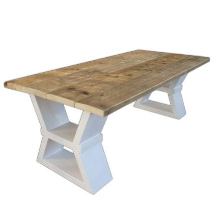 Bauholz-Design-Tisch Munster
