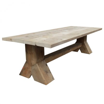 Bauholz Design Tisch